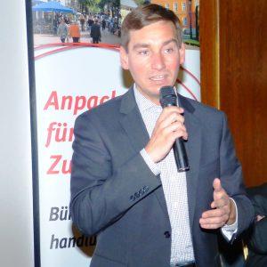 Bundestagskandidat Sebastian Hartmann