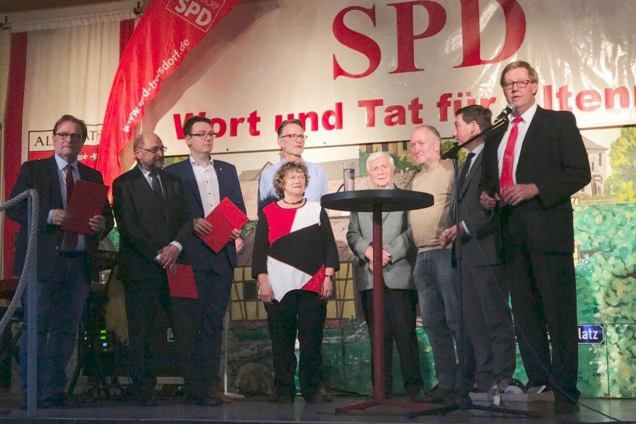 SPD Troisdorf Altenrath Grünkohlessen