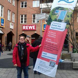 Infostand_Aggerfreibad_SPD_Troisdorf_Buergerbegehren