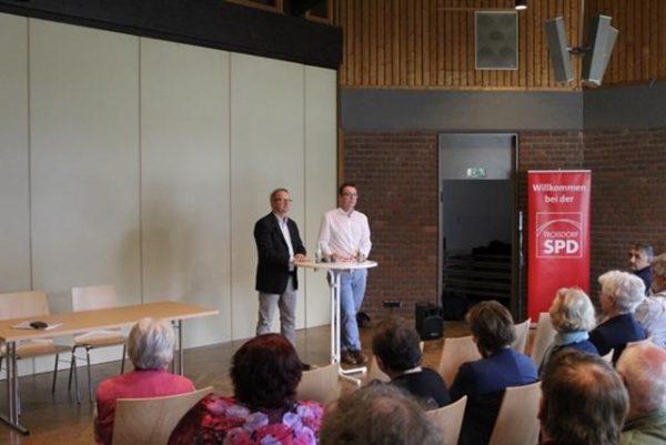 Diskussion Sozialstaat_Goossens_Kahrs_Waldaestl SPD Troisdorf
