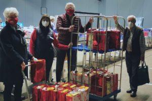 Tafel Weihnachtspaketaktion SPD Fraktion