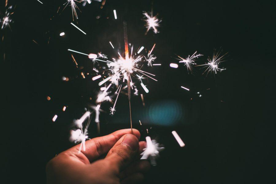 Frohes Neues Jahr Gesundheit Corona Glück