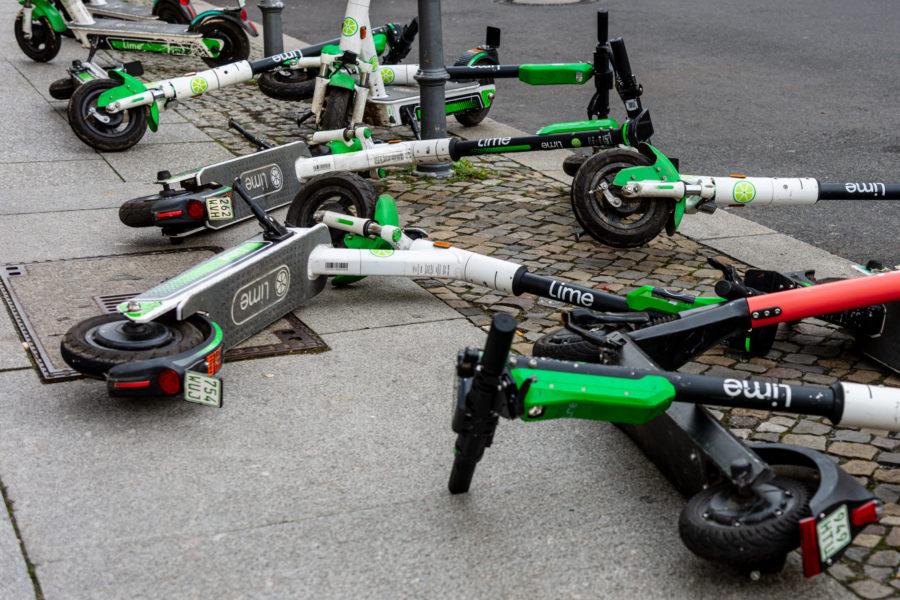 EScooter Verleih Angebot Troisdorf Regeln Chaos vermeiden Sondernutzungssatzung SPD