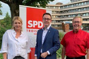 Landtagswahl_2022_Denis_Waldaestl_Meinel_Tuettenberg_SPD_Troisdorf