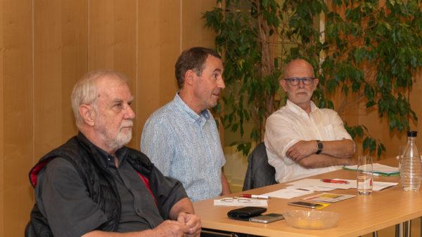 Horst Grundmann Uwe Göllner Claus Chrispeels AG60plus